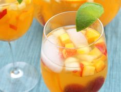 From Sangria to Smoothies: 8 Refreshing Summer Drinks Summer Drinks, Cocktail Drinks, Fun Drinks, Beverages, Summer Sangria, Sparkling Sangria, White Wine Sangria, Red Sangria, Drink Recipes