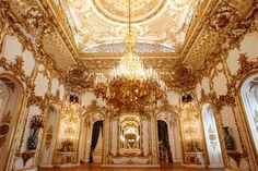 Slideshow : Gilded Rococo rooms, high Roman Baroque architecture - Liechtenstein princely palace opens gates to public in Vienna Baroque Architecture, Beautiful Architecture, Beautiful Buildings, Architecture Details, Classic Architecture, Beautiful Places, Smash Book, Public Hotel, Grand Homes