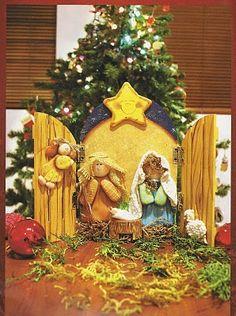 How to make a cute nativity scene