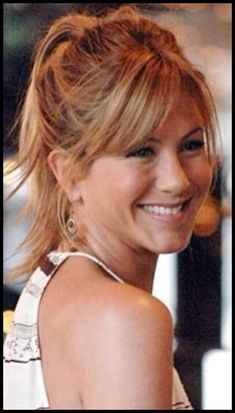 19 Ideas for hairstyles with bangs jennifer aniston 19 Ideas for hairstyles with. - 19 Ideas for hairstyles with bangs jennifer aniston 19 Ideas for hairstyles with bangs jen. Haircuts With Bangs, Cool Haircuts, Trendy Hairstyles, How To Cut Bangs, How To Style Bangs, Jennifer Aniston Haar, Jennifer Aniston Hairstyles, Medium Hair Styles, Long Hair Styles