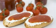 Mermelada de tomates Cherry