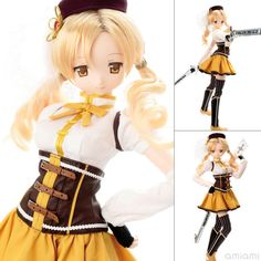 AmiAmi [Character & Hobby Shop]   1/3 Hybrid Active Figure Puella Magi Madoka Magica the Movie [New] The Rebellion Story - Mami Tomoe Complete Doll(Released)