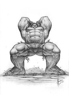 hulk frontal anatomy pose reference Hulk by Dale Keown Comic Book Artists, Comic Book Characters, Comic Artist, Marvel Characters, Comic Character, Comic Books Art, Character Design, Arte Dc Comics, Marvel Comics Art