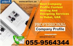 Writers.ae: Create a Great Company Profile, follow us at http:...