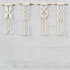these mini wall hangings look so pretty together! ☺️ they are available at o...,  #hangings #Mini #pretty #wall