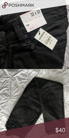 7adc33c8 Express Jeans for Men Brand new, never worn BLACK Express jeans for men  size 32x32, slim fit. Express Jeans Slim