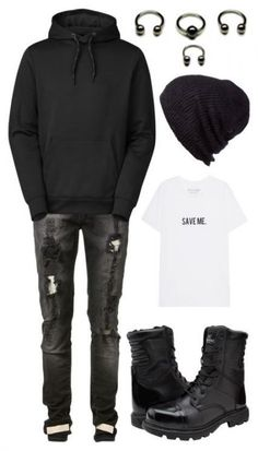 Super Fashion Mens Punk Boots Ideas outfits hipster outfits Work outfits casual outfits with boots outfits swag Punk Rock Outfits, Grunge Outfits, Scene Outfits, Tomboy Outfits, Hipster Outfits, Androgynous Fashion, Tomboy Fashion, Punk Fashion, Grunge Fashion