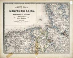 Ravenstein Atlas des Deutschen Reichs   The German Studies Collection   University of Wisconsin Digital Collections