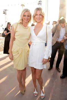 Pin for Later: 21 Stars Who Have Been in Their Famous Friends' Weddings  When Amy Smart married Carter Oosterhouse in September 2011, her longtime friend and fellow actress Ali Larter served as one of her bridesmaids.