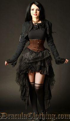 Lace Bolero   Steampunk   Fashion   Goth ✿ Rayvin Nyte ✿ Enchanting & Enhancing Your Life!  www.MagicallyManifestMoney.com