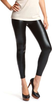ShopStyle: Ankle-Zip Liquid Legging