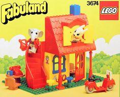 Uno de mis juguetes favoritos de pequeña... los Lego Fabuland (aún los tengo).  En esta web hay un listado muy completo de todos los sets de Fabuland... muy interesante para coleccionistas... o nostálgicos como yo ;p