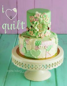 Tarta Quilt . Quilt cake