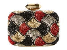 Beaded minaudiere from Badgley Mischka. #bags #accessories #zappos