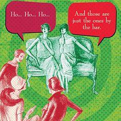 Napkins cocktail funny christmas