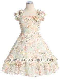 Flowergirldressforless $40