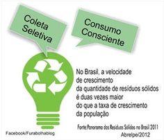 "Coleta Seletiva: lixo em container fashion ou  ""brega #coletaseletiva"