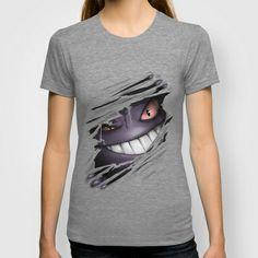 Gengar'd T-shirt by SUIamena - $22.00