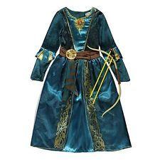 Princess Merida Brave Costume