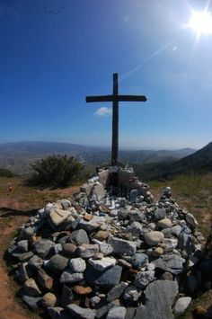 Cross Memorial... Camp Pendleton, California...