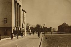 Old Photos, Poland, Street View, Old Pictures, Vintage Photos