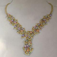colar briolets gemas brasileiras, design joias,