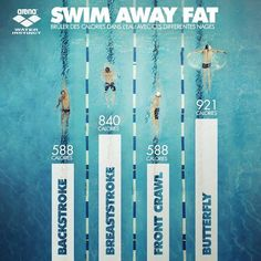 Arena Water Instinct - Swim Away Fat