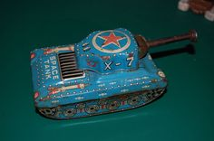 Vintage 50 60s Space Tank Tin Toy x 7 Made in Japan RARE | eBay