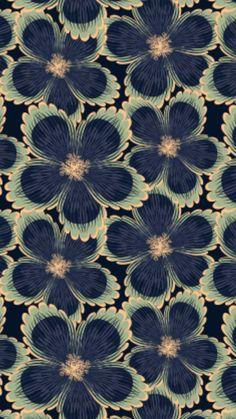 Best Ideas For Art Prints Wallpaper Pattern Design Butterfly Wallpaper, Fabric Wallpaper, Pattern Wallpaper, Iphone Wallpaper, Motifs Textiles, Textile Patterns, Print Patterns, Floral Patterns, Surface Pattern Design