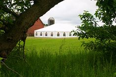 country wedding 40x60 tent