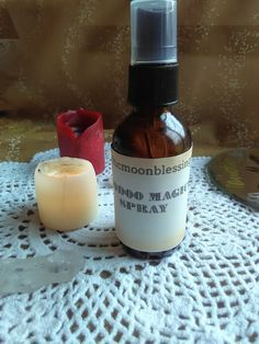 Hoodoo Magick Spray For Spells and Conjures Wicca Hoodoo Pagan Santeria Moon #smudgefeathers #conjureoils #divination #alchemy #fullmoon