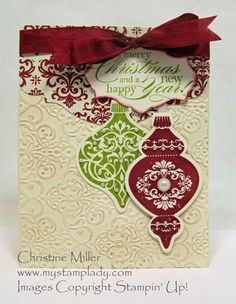Ornament Keepsakes    http://www.mystamplady.com/my_stamp_lady/