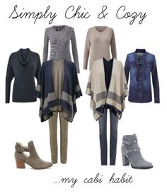 """Simply Chic & Cozy"" by divasole ❤ liked on Polyvore featuring CAbi, Sole Society and Valentino"