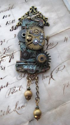 steampunk cuckoo clock....I think this is the next one