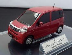 "HONDA LIFE OFFICIAL 1:24 BERRY RED METALIC ""NOT FOR SALE"" Dealer Color SAMPLE"
