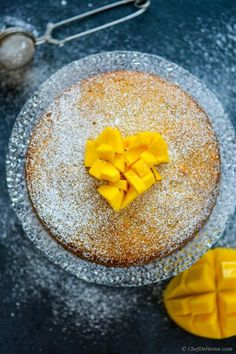 This moist, mango pound cake needs nothing more than a dusting of confectioner's sugar to set off it's classic looks. With rich tropical mango taste, and subtle notes of coconut, this easy cake is...