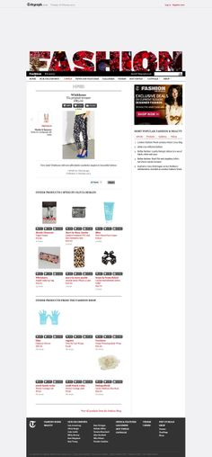 The Telegraph Online's Shop Now, Shopping, Beauty, Design, Fashion, Moda, Fashion Styles, Beauty Illustration