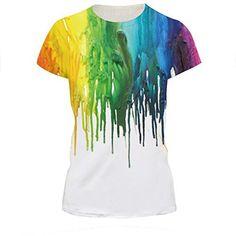 48b44dead3b6e Elakaka Women s 3D Printing Leisure Slim Short Sleeve T-shirt£¨289 SÂ
