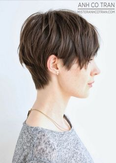 Cute Short Haircut Side View only shorter in back to avoid the dreaded... MULLET!!!!!!