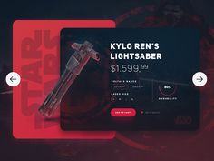 "Hello Everyone!  Imperial Army's shop !  This time we sell Kylo Ren's Lightbaser :) I hope you like it.   And  ""May the force be with you"".  See you soon !"