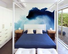 The Abstract Hand Painted Watercolor wall mural from Murals Your Way will add a distinctive touch to any room. Home Bedroom, Bedroom Decor, Bedroom Ideas, Master Bedroom, Murals Your Way, Watercolor Walls, Watercolors, Ideas Hogar, Decoration Inspiration