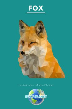Fox is a lovely creature. Please say no to the fur trade.   Visit our site to download the low-poly drawing app! Fur Trade, Lovely Creatures, Low Poly, Fox, Drawings, Movie Posters, Instagram, Film Poster