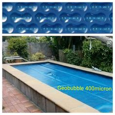 Standard 500 Micron ~Increase pool temp by approx. 5 – 7 degrees ~Reduces evaporation by when blanket in use – 6 year life span Month warranty