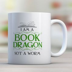 I Am A Book Dragon Not A Worm | Awesome Librarians