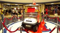 This parking patrol cart that had it coming at McKinney Boyd High: The 12 Greatest Senior Pranks Ever Caught On Camera