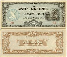 Philippines 10 Pesos (1942) (Plantation)