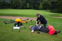 Defibrillator Equipped Drones Speed Treatment To Those In Need - PSFK