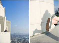 Real Engagement: Vanessa and Rick in LA // Images by Mark Martinez Photography
