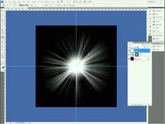 Flare Effect Photoshop Tutorial - YouTube