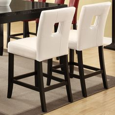 Shop Coaster Fine Furniture 103619 Newbridge Counter Height Dining Chair (Set of 2) at Lowe's Canada. Find our selection of bar stools at the lowest price guaranteed with price match + 10% off.